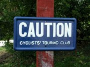 Historic CTC Caution Sign