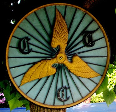 Reproduction CTC Winged Wheel